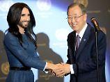 Menschenrechte für alle: Conchita Wurst spricht vor UN