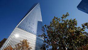 Sicherster Büroturm der USA: Erste Mieter beziehen One World Trade Center
