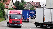 Ausweichen auf Landstraßen soll künftig teuer werden.
