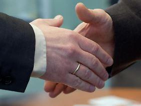 Gelegentlich kann das Mitarbeitergespräch zu einem weiteren Schritt auf der Karriereleiter führen.