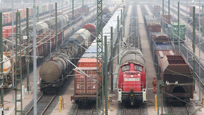 Im Güterverkehr beginnt der Ausstand bereits am Mittwochnachmittag.
