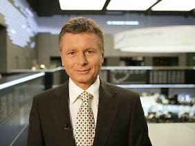 """Moderiert bei n-tv die """"Telebörse"""": Raimund Brichta."""