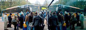 Ausweichen auf die Straße: Die Profiteure des Bahnstreiks