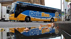 """Weitere Fernbusanbieter-Pleite: Branchen-Pionier """"Dein Bus"""" meldet Insolvenz an"""