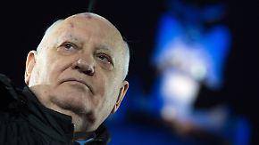 25 Jahre nach dem Mauerfall: Gorbatschow warnt vor Neuauflage des Kalten Krieges