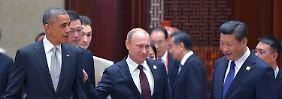 Apec-Gipfel in Peking: USA und Russland buhlen um Chinas Gunst