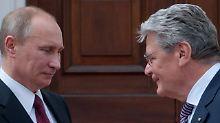 Bundestagsjuristen bremsen Gauck: Maulkorb für den Bundespräsidenten?