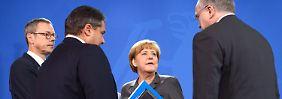 Kritik an schwarz-roter Koalition: Wirtschaftsweise senken Prognose