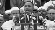 """Kings """"I have a dream""""-Rede vor 250.000 Zuhörern in Washington gilt als eines der Schlüsselereignisse der US-Bürgerrechtsbewegung."""