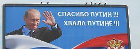 Wie weit geht Putin?: Serbien wäre als Nächstes dran