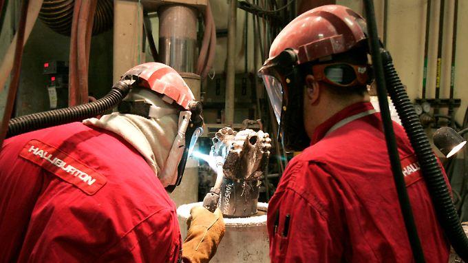 Weltweit im Einsatz: Halliburton und Baker Hughes haben gemeinsam mehr als 140.000 Mitarbeiter.