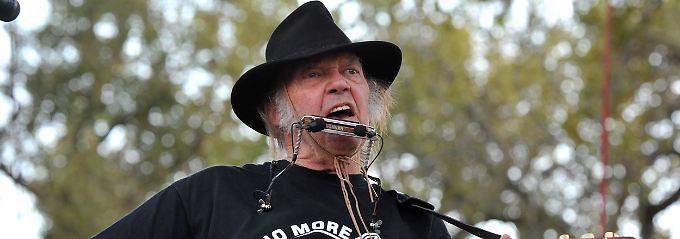 Neil Young mag Starbucks nicht mehr.