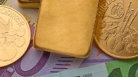 Goldpreis auf Talfahrt: Auf lange Sicht wird alles gut