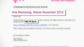 Mail mit Trojaner im Anhang: Betrüger verschicken gefälschte Rechnungen