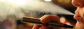 Kein therapeutischer Zweck: E-Zigaretten weiter frei verkäuflich