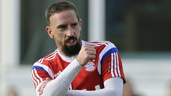 """""""Ich bin immer noch ein wichtiger Spieler"""": Franck Ribéry."""