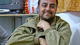 Gemeindeanführer wie Osman Mukdad geben Zaatari eine Struktur.