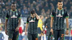 Nichts zu holen in Hamburg - und dem HSV zudem das Toreschießen leichtgemacht: Es bleibt trüb für Werder.