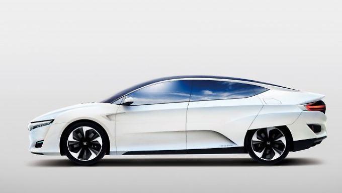 So sieht er aus, der FCV von Honda.