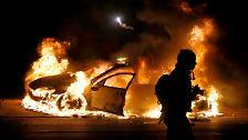 Brennende Autos, ...