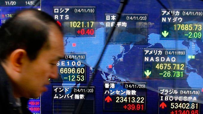 In Japan hat man mit dem stärker werdenden Yen zu tun.