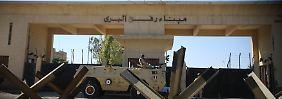 Der Grenzübergang Rafah ist vorübergehend wieder in Richtung Gazastreifen geöffnet.
