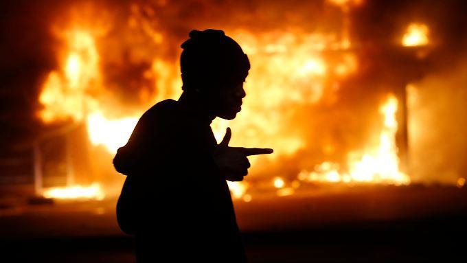 """Proteste in den USA weiten sich aus: Polizist von Ferguson hat """"reines Gewissen"""""""