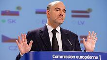 Pierre Moscovici verweist auf das kommende Frühjahr.