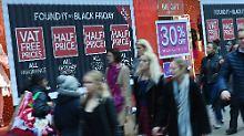 Power-Shopping in den USA: Black Friday - der Zoll ist das Limit