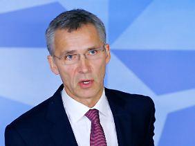 Jens Stoltenberg ist erstmals als Nato-Generalsekretär bei der Sicherheitskonferenz.