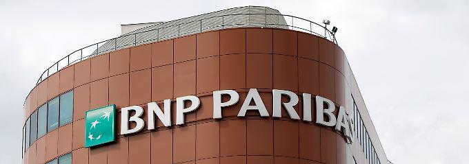 Geschäfte mit dem Iran, Kuba und dem Sudan - dafür musste die BNP Paribas tief in die Tasche greifen.