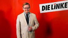 Bodo Ramelow ist auf die Geschlossenheit von Linkspartei, SPD und Grünen angewiesen.