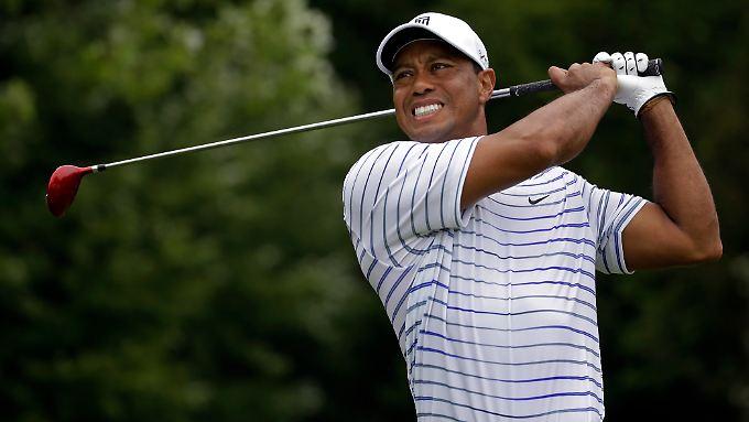 """""""Ich fühle mich großartig"""": Tiger Woods."""