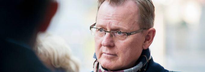 Könnte am Freitag zum neuen thüringischen Ministerpräsidenten gewählt werden: Bodo Ramelow.