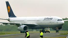 Flugzeuge vom Typ Airbus A330 sollen bei Eurowings die Langstrecke bedienen.