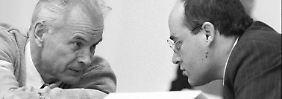 Auflösung der SED verhindert: Hans Modrow und Gregor Gysi.