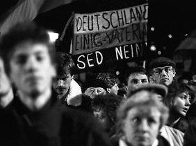Beim größten Teil der DDR-Bevölkerung hat die SED ihren Kredit verspielt.