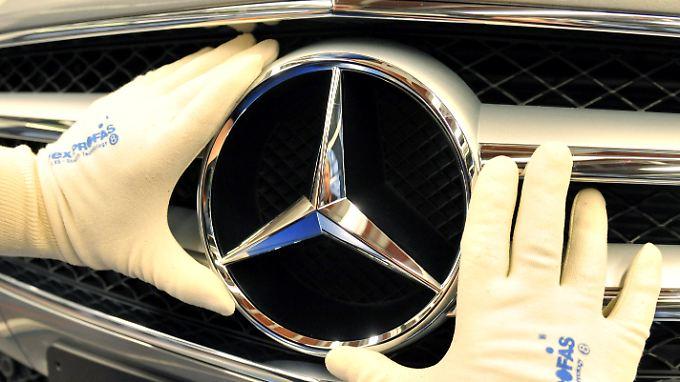 Daimler verzeichnet ein sehr erfolgreiches Jahr.