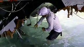 """Segelmarathon """"Volvo Ocean Race"""": Dänisches Team """"Vestas"""" havariert auf einem Riff"""