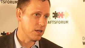 """Investor Thiel im Interview: """"Deutschland ist pessimistisch aber zufrieden"""""""
