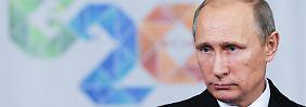 Dem Kreml gehen die Optionen aus: Putin stemmt sich gegen Rubel-Absturz