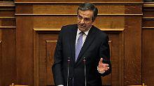 Alles auf eine Karte: Samaras zieht Präsidentenwahl vor