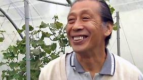 Nicht bio, aber glücklich: Pariser Spitzenköche reißen sich um Gemüse von japanischem Bauern