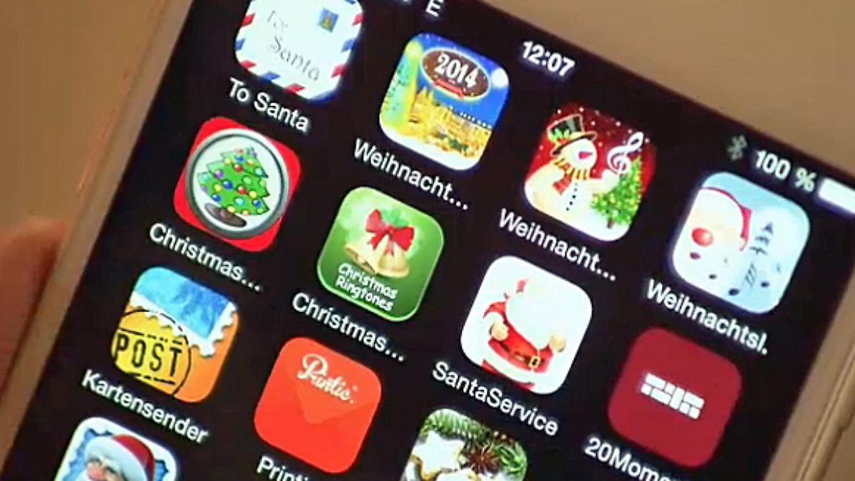 n tv ratgeber die besten weihnachts apps n. Black Bedroom Furniture Sets. Home Design Ideas