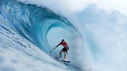 Surf-Weltmeisterschaft auf Hawaii: Wellenreiten - spektakulär und cool