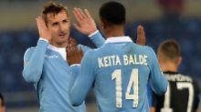 """""""Ich möchte dieses Jahr hierbleiben und auch noch das kommende"""": Miroslav Klose."""