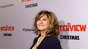 Für Amy Pascal, Co-Chefin von Sony Pictures, geht es nun um Schadensbegrenzung.