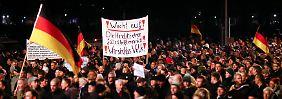 15.000 Menschen in Dresden: Pegida bekommt weiteren Zulauf