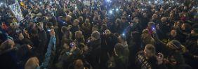 15.000 bei Pegida in Dresden: Hier demonstriert die Mischpoke