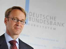 Jens Weidmann erwartet für längere Zeit eine niedrige Teuerungsrate.